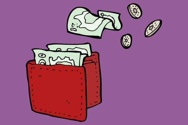 Haushaltsplaner mit Budget